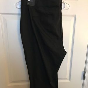NWT Lena black crop pants Lane Bryant 28